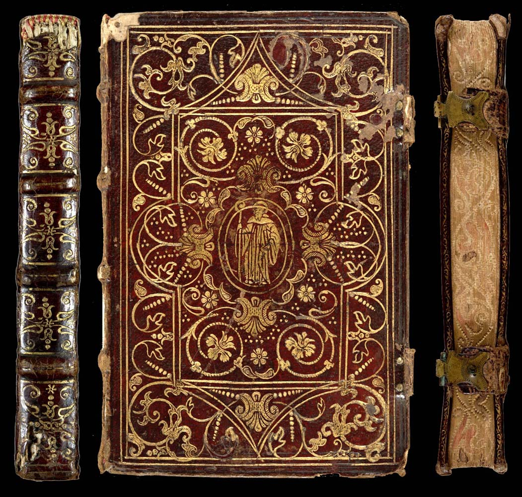 Vintage Decorative Book Cover : Decorative bookbinding in the sixteenth century